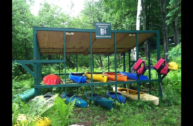 Canoes & Kayaks at the Wildlife Refuge - for your use!