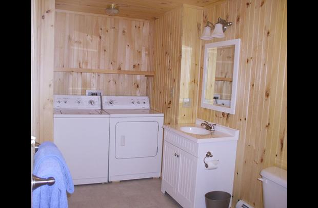 Washer-Dryer basement bath