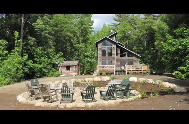Otter Chalet with sauna and camp fire circle